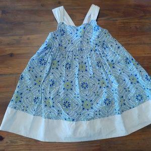 Toddler Girls Sundress- Gymboree 2T- blue & yellow